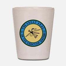 Great Seal of the Choctaw Shot Glass