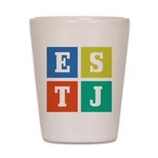 Myers-Briggs ESTJ Shot Glass