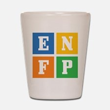 Myers-Briggs ENFP Shot Glass