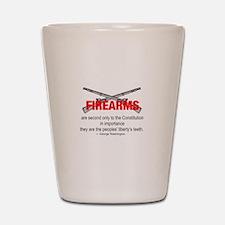 Anti Gun Control Shot Glass