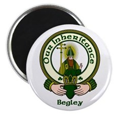 """Begley Clan Motto 2.25"""" Magnet (10 pack)"""