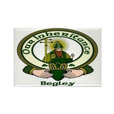 Begley Clan Motto Rectangle Magnet (10 pack)