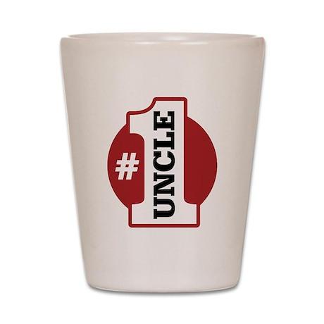 #1 Uncle Shot Glass