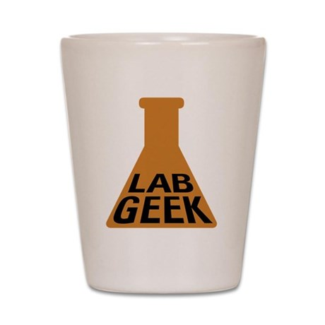 Lab Geek Shot Glass