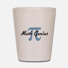 Math Genius Shot Glass