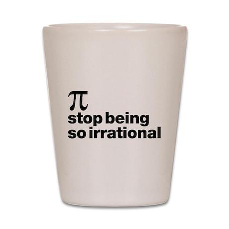 Irrational Pi Shot Glass