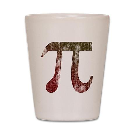 Vintage Pi Shot Glass