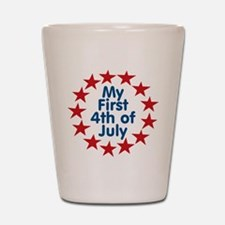First 4th of July Shot Glass