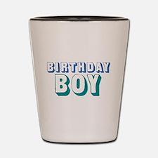 Birthday Boy Shot Glass