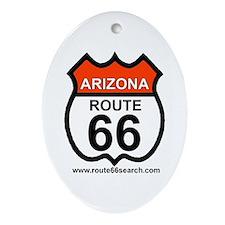 Arizona Route 66 Oval Ornament