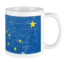 Vintage Alaska Small Mug