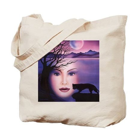 Moon Shadow Tote Bag