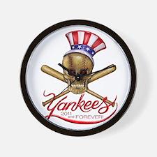 yankees Wall Clock