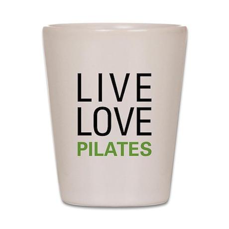Live Love Pilates Shot Glass