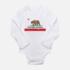 Vintage California Long Sleeve Infant Bodysuit