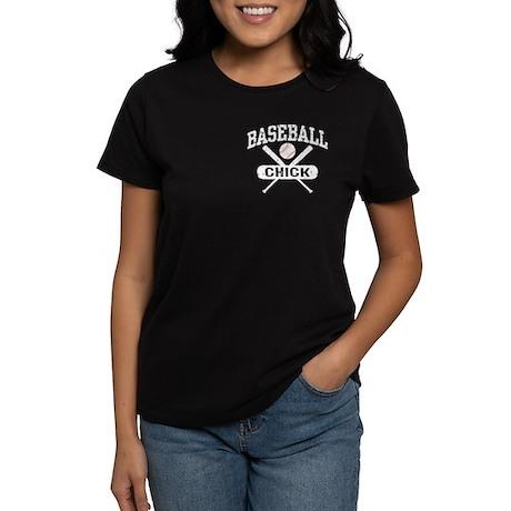 Baseball Chick Women's Dark T-Shirt