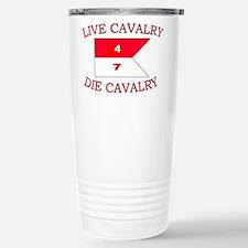 4th Squadron 7th Cavalry Travel Mug