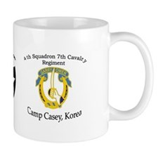 4th Squadron 7th Cavalry Small Mug