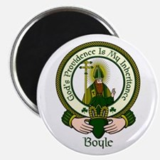 "Boyle Clan Motto 2.25"" Magnet (10 pack)"