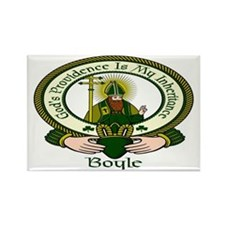 Boyle Clan Motto Rectangle Magnet (10 pack)