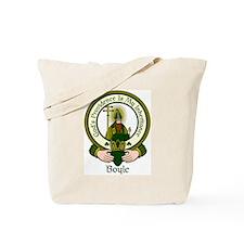 Boyle Clan Motto Tote Bag