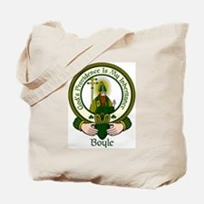 Boyle Clan Motto Tote Bag