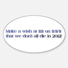 Funny Make wish Decal