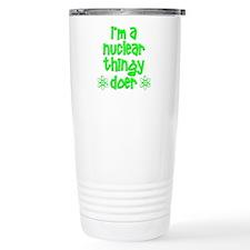 funny nuclear Travel Mug