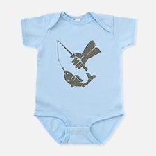 Serious Fishing Infant Bodysuit