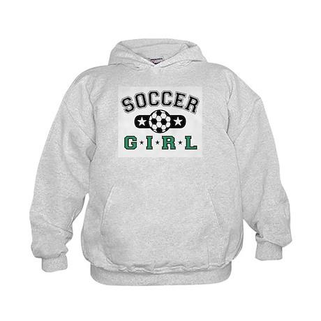 Soccer Girl Kids Hoodie