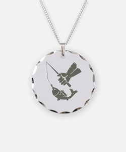 Serious Fishing Necklace