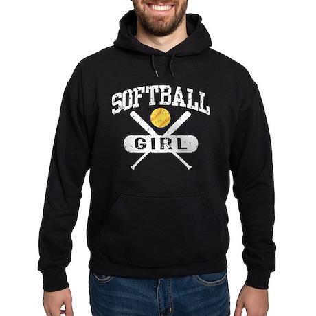 Softball Girl Hoodie (dark)