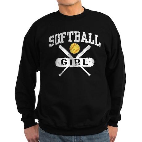 Softball Girl Sweatshirt (dark)