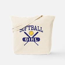 Softball Girl Tote Bag