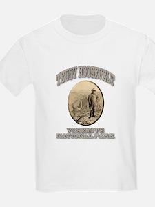 Roosevelt At Yosemite T-Shirt