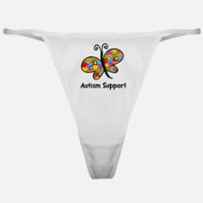 Autism Butterfly Classic Thong