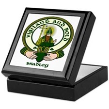 Bradley Clan Motto Keepsake Box