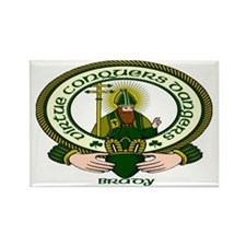 Brady Clan Motto Rectangle Magnet (10 pack)