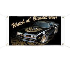 Watch ol' Bandit Run Banner