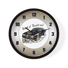 Watch ol' Bandit Run Wall Clock