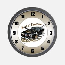 Watch ol' Bandit Run Wall Clock