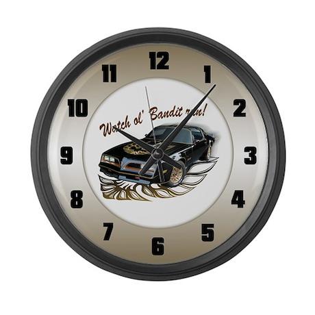 Watch ol' Bandit Run Large Wall Clock