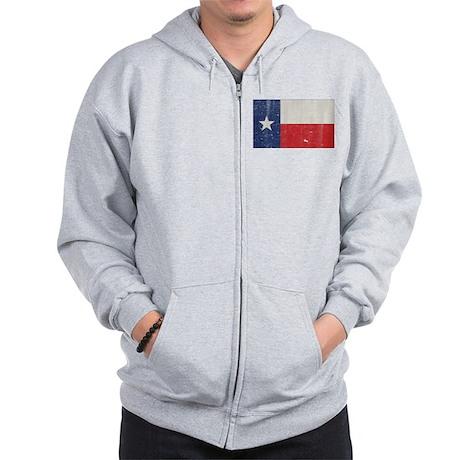 Vintage Texas Zip Hoodie