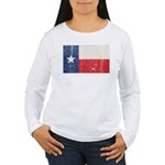 Vintage Texas Women's Long Sleeve T-Shirt