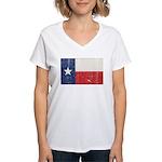 Vintage Texas Women's V-Neck T-Shirt