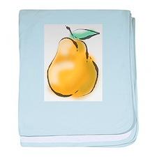 Nice Pear baby blanket