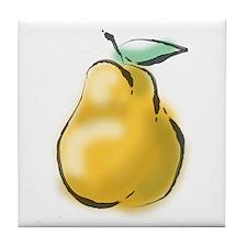 Nice Pear Tile Coaster