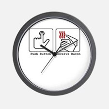 Funny Bacon Dryer Wall Clock