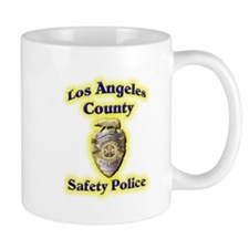 L A County Safety Police Mug