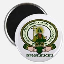 "Brennan Clan Motto 2.25"" Magnet (10 pack)"